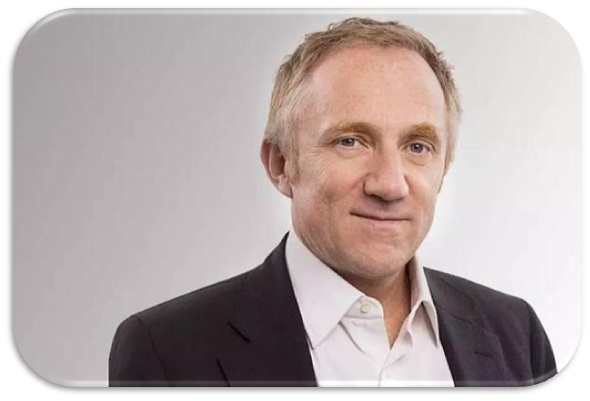 President of Kering Group---Francois Pinault