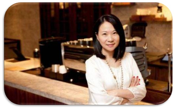 President of Starbucks(China)---Ms. Wang Jingying